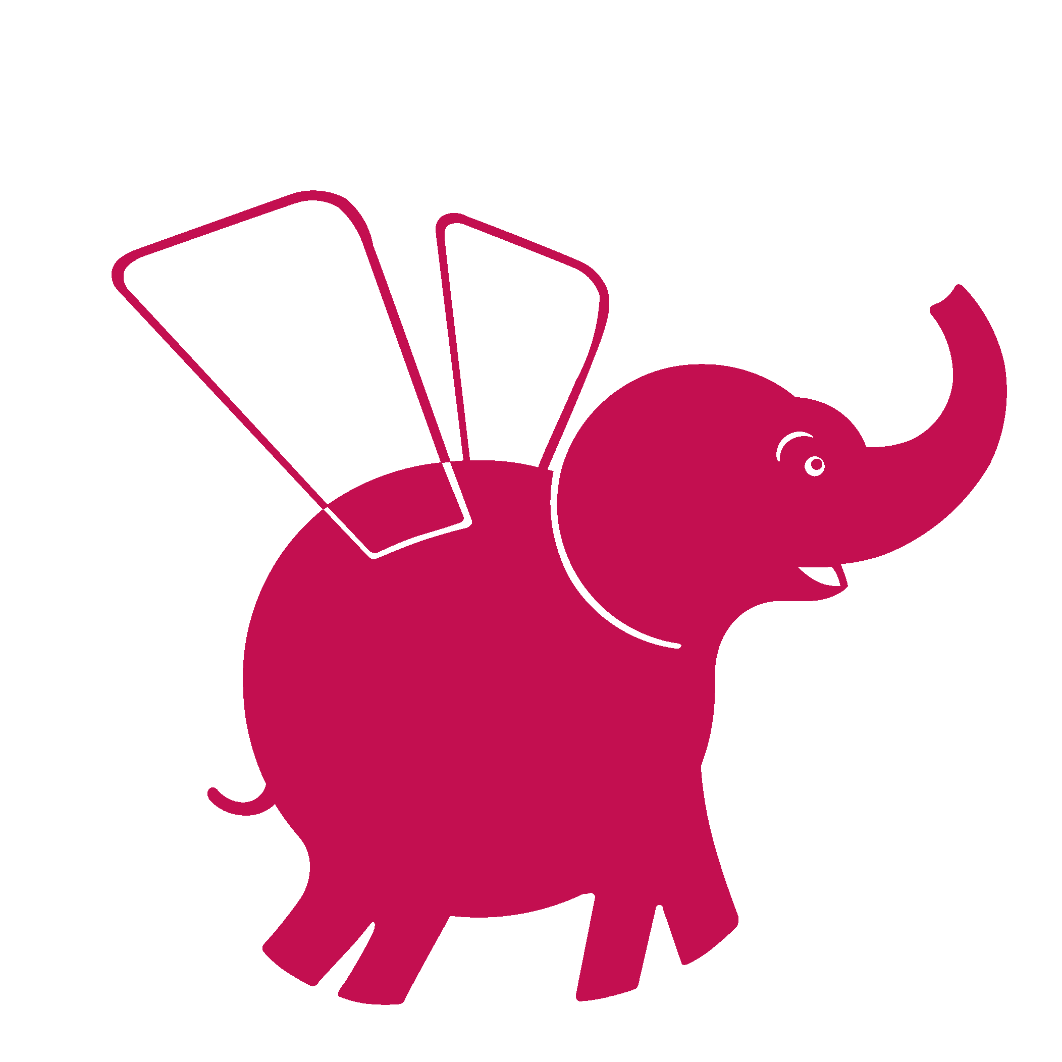 Красный слон